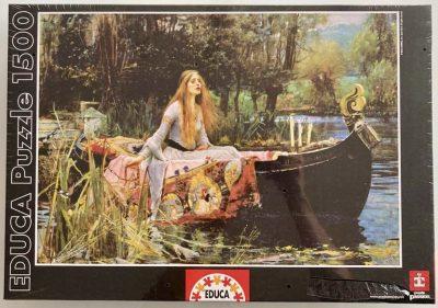 Image of the puzzle 1500, Educa, The Lady of Shalott, Factory Sealed