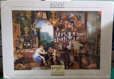 Image of the puzzle 6000, Nathan, The View, by Jan Brueghel the Elder, Factory Sealed, Picture of the box