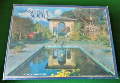 Image of the puzzle 3000,Arrow, Italian Garden, Garnish Island, County Cork, Ireland, Factory Sealed, Picture of the box