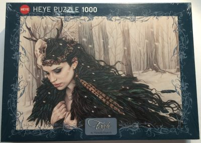 Image of the puzzle 1000, Heye, Horned, by Victoria Francés, Factory Sealed, Picture of the box