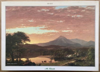 Image of the puzzle 1500, Beverly, Mt. Ktaadn, by Frederic Edwin Church, Sealed Bag, Picture of the box