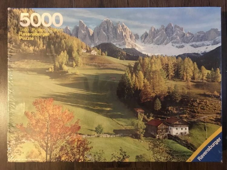 Image of the puzzle 5000, Ravensburger, Dolomites, Factory Sealed