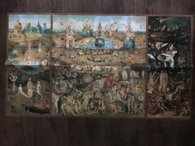Image of the puzzle 10000, Educa, The Garden of Earthly Delights, by Bosch, Sealed Bags, Picture of the poster