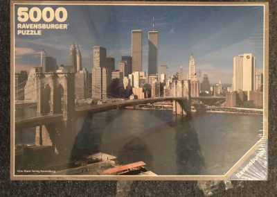 Image of the puzzle 5000, Ravensburger, New York City, Factory Sealed, Picture of the Box