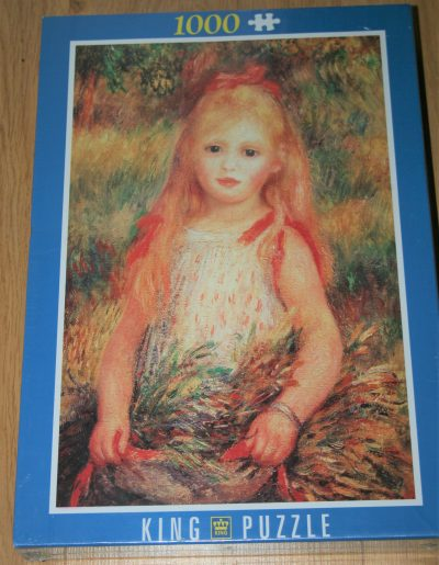 Image of the puzzle 1000, King, The Young Girl, by Pierre-Auguste Renoir, Factory Sealed