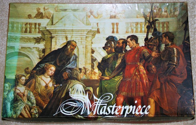 Image of the puzzle 500, Whitmore, The Family of Darius before Alexander, by Paolo Veronese, Complete, Picture of the box