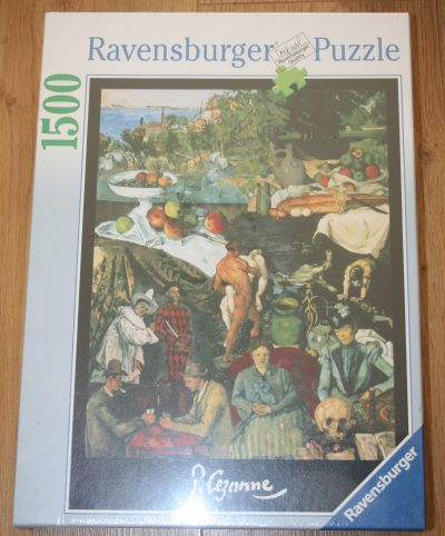 Image of the puzzle 1500, Ravensburger, Masterpieces, by Paul Cézanne, Factory Sealed