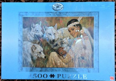 Image of the puzzle 1500 Jumbo, Kindred Spirits, by Karl Bang, Factory Sealed