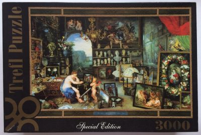 Image of the puzzle 3000, Trefl, The View, by Jan Brueghel the Elder, Sealed Bag, Picture of the Box