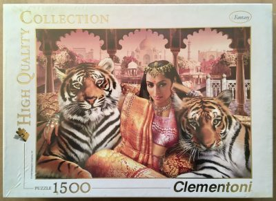 Image of the puzzle 1500, Clementoni, Indian Princess, Andrew Farley, Factory Sealed