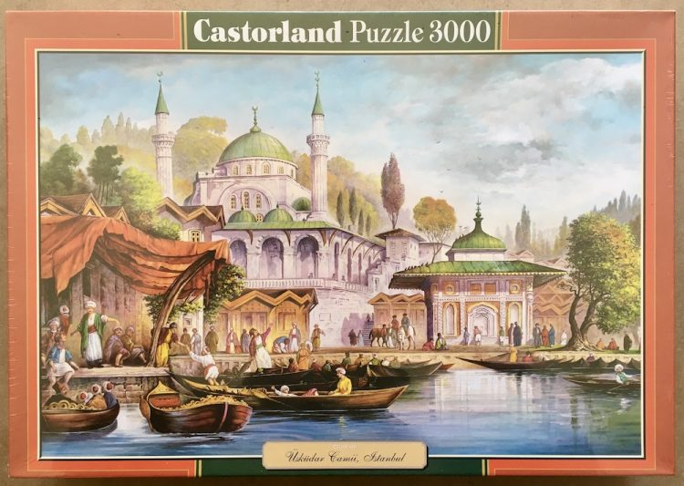 Image of the puzzle 3000, Castorland, Uskudar Mosque, Istanbul, Factory Sealed