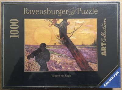 Image of the puzzle 1000, Ravensburger, Sower at Sunset, by Vincent van Gogh, Factory Sealed
