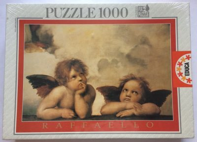 Image of the puzzle 1000, Educa, Cherubini, by Raphael, Factory Sealed, Listed by Olga