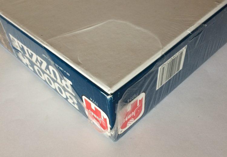 Image of the puzzle 3000, Jumbo, Portofino, Italy, Factory Sealed, Picture of the corner