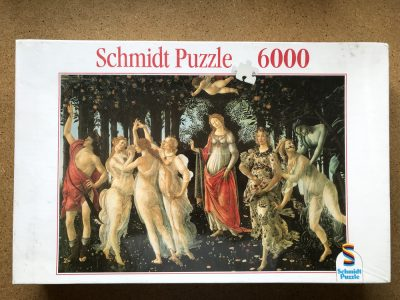 Image of the puzzle 6000, Schmidt, Allegory of Spring, by Sandro Botticelli, Factory Sealed