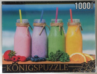 Image of the puzzle 1000, Königspuzzle, Smoothie on the Beach, Factory Sealed