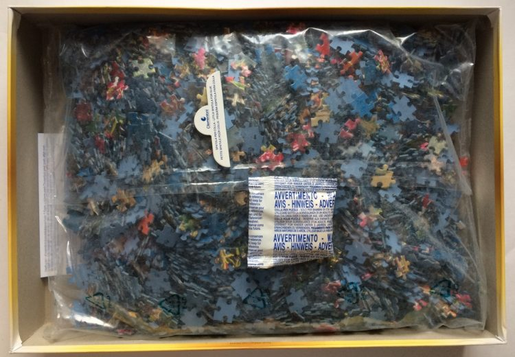 Image of the puzzle 4000, Clementoni, Vernazza, Sealed Bag, Picture of the bag