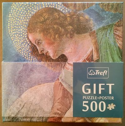 Image of the puzzle 500, Trefl, Angel Musician, by Melozzo da Forlì, Factory Sealed