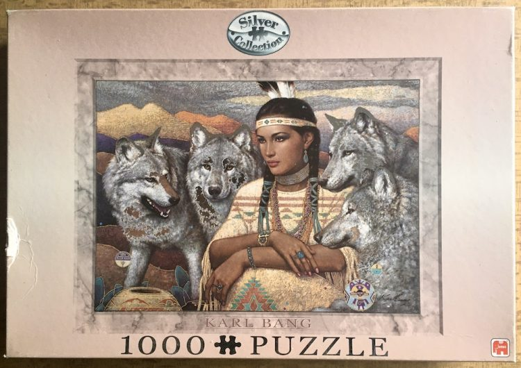 Image of the puzzle 1000, Jumbo, Legends, by Karl Bang, Complete, Picture of the box