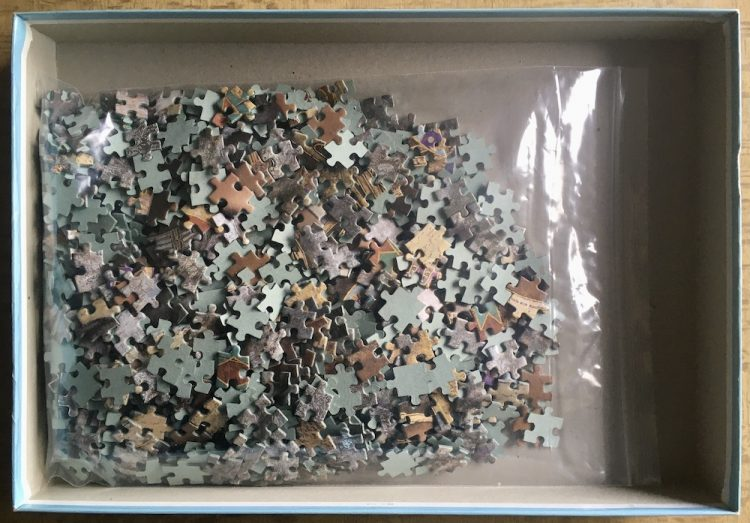 Image of the puzzle 1000, Jumbo, Legends, by Karl Bang, Complete, Picture of the bag