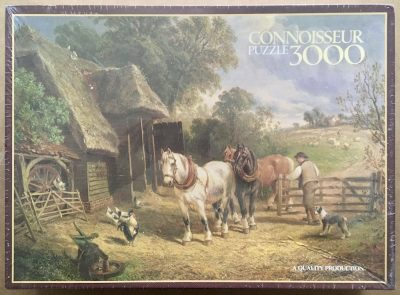 Image of the puzzle 3000, Arrow, Done for the Day, by Meadows, Factory Sealed