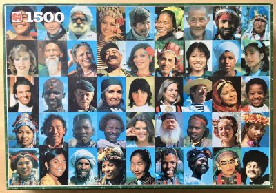 Image of the puzzle 1500, Jumbo, People of the World, Complete, Picture of the box