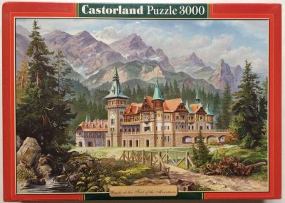 Image of the puzzle 3000, Castorland, Castle at the Foot of the Mountains, Factory Sealed