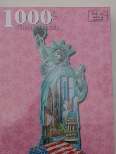 Image of the puzzle 1000, F.X. Schmid, Statue of Liberty (Silhouette), Factory Sealed