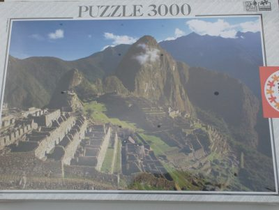 Image of the puzzle 3000, Educa, Machu Picchu, Peru, Factory Sealed
