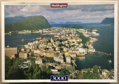 Image of the puzzle 3000, Waddingtons, Alesund, Norway, by Edmund Negele, Sealed Bag, Picture of the box