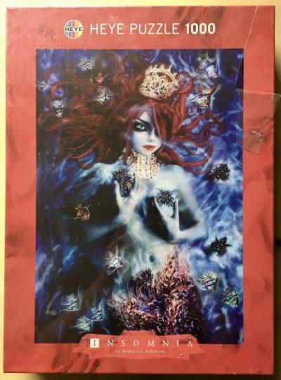 Image of the puzzle 1000, Heye, Mermaid, by Katarina Sokolova, Factory Sealed
