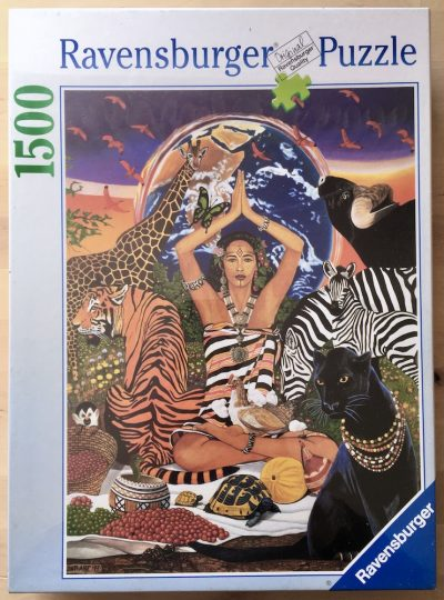 Image of the puzzle 1500, Ravensburger, Indian Summer, by DNT-ART, Factory Sealed