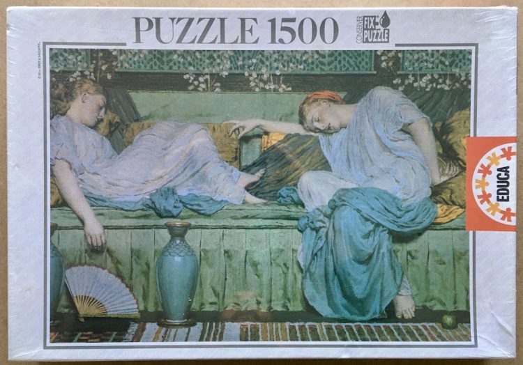 Image of the puzzle 1500, Educa, Apples, by Albert Moore, Factory Sealed