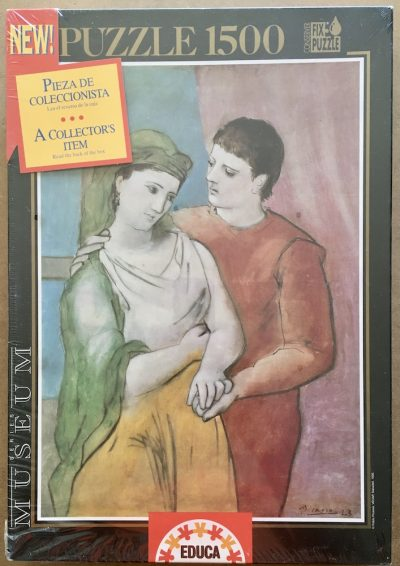 Image of the puzzle 1500, Educa, The Lovers, by Pablo Ruíz Picasso, Factory Sealed
