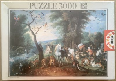 Image of the puzzle 3000, Educa, Noah's Ark, by Jan Brueghel the Younger, Factory Sealed