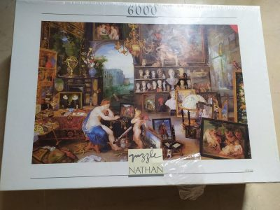 Image of the puzzle 6000, Nathan, The View, by Jan Brueghel the Elder, Factory Sealed