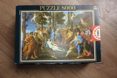 Image of the puzzle 8000, Educa, Le Parnasse, by Nicolas Poussin, Sealed Bag, Picture of the box