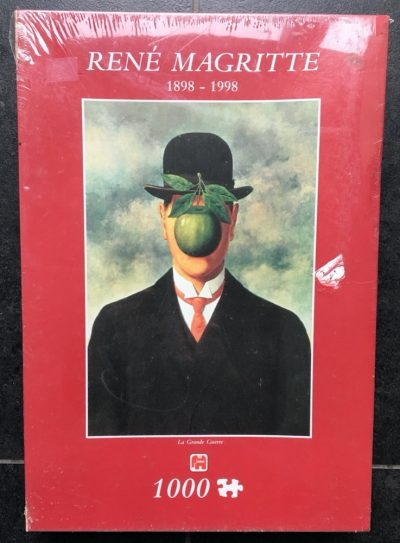 Image of the puzzle 1000, Jumbo, The Great War, by René Magritte, Factory Sealed, Listed by Bram