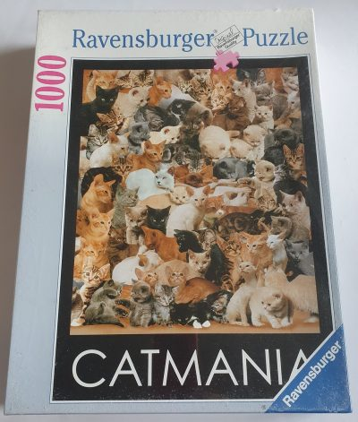 Image of the puzzle 1000, Ravensburger, Cat Mania, Factory Sealed