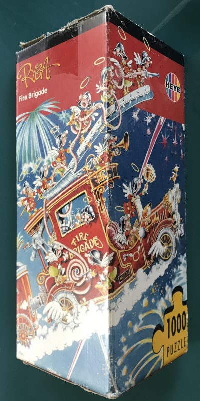 Image of the puzzle 1000, Heye, Fire Brigade, by Ryba, Complete, Picture of the box
