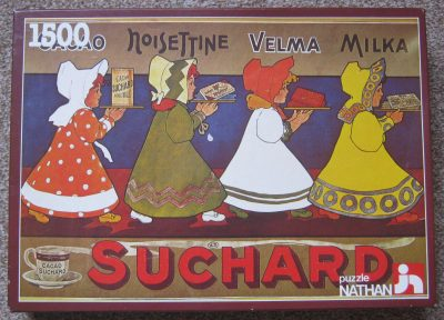 Image of the puzzle 1500, Nathan, A Suchard Poster, Complete, Picture of the box