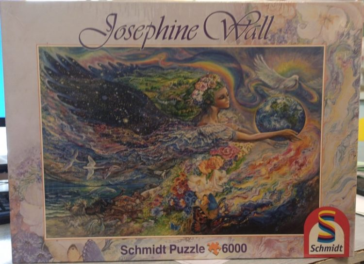 Image of the puzzle 6000, Schmidt, Earth Angel, by Josephine Wall, Factory Sealed