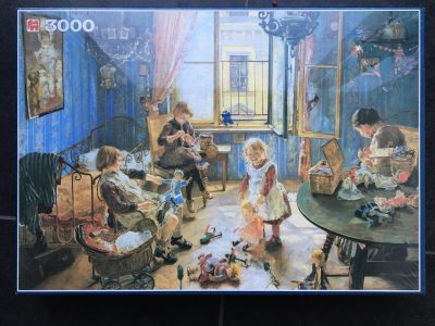 Image of the puzzle 3000, Jumbo, Nursery, Fritz von Uhde, Factory Sealed