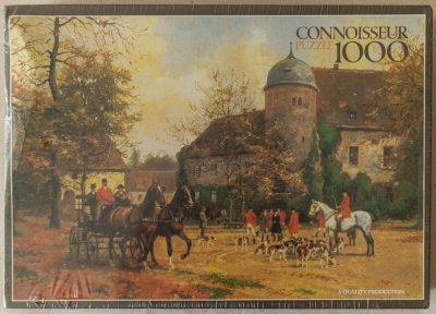 Image of the puzzle 1000, Arrow, The Meet, by Georg Karl Koch, Factory Sealed, Picture of the box