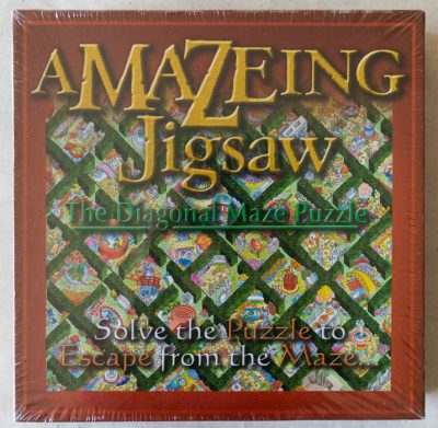Image of the puzzle 515, JR Puzzles, Amazeing Jigsaw, Factory Sealed, Picture of the box