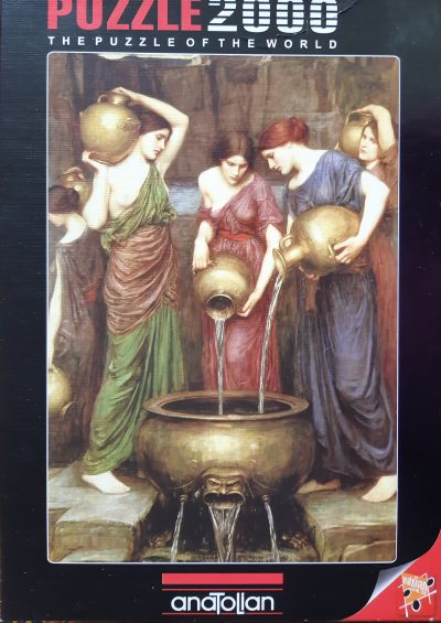 Image of the puzzle 2000, Anatolian, Danaides, by John William Waterhouse, Sealed Bag, Picture of the box