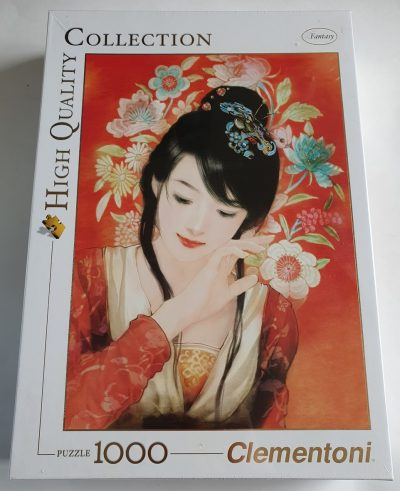 Image of the puzzle 1000, Clementoni, The Beauty of Brocade, by Abraxsis Der Jen, Factory Sealed