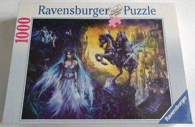 Image of the puzzle 1000, Ravensburger, Elf Town, by Eckhardt Freytag, Factory Sealed