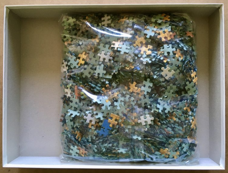Image of the puzzle 2000, MB, California Desert, by Christopher Comstock, Sealed Bag, Picture of the bag