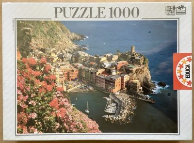 Image of the puzzle 1000, Educa, Cinque Terre, La Riviera, Factory Sealed